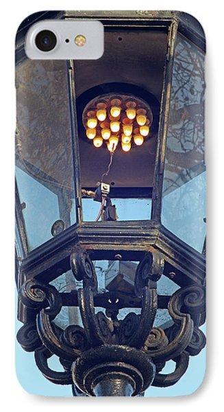 Gas Street Lighting IPhone Case by Alex Bartel