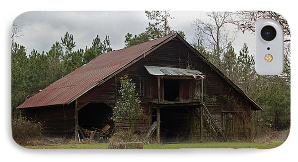 Gaskins Family Barn - Gallivants Ferry IPhone Case by Suzanne Gaff