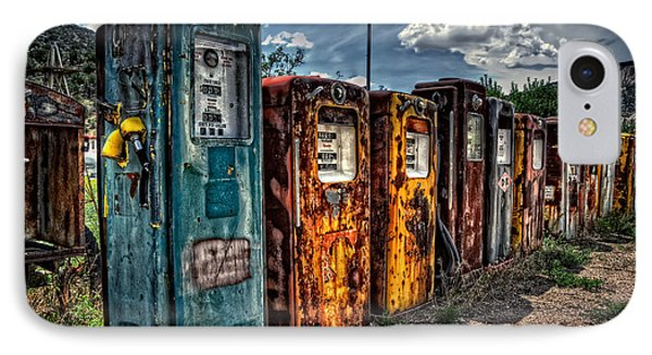 IPhone Case featuring the photograph Gasoline Alley by Ken Smith