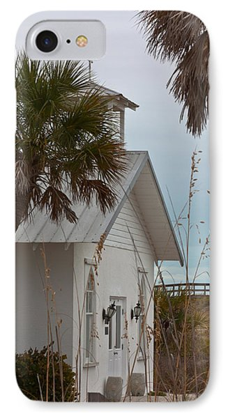 IPhone Case featuring the photograph Gasparilla Island State Park Chapel by Ed Gleichman