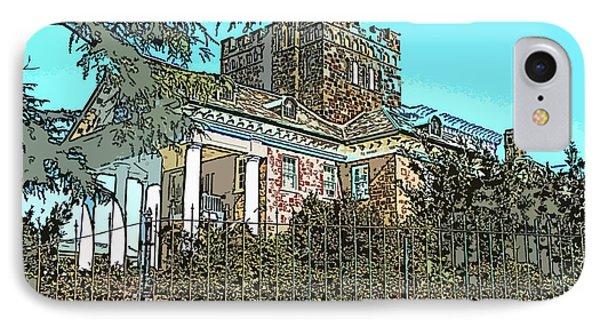 Gassaway Mansion IPhone Case by Greg Joens