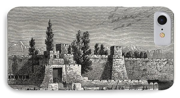 Gate Of The Fort Of Tangy-shahr, Five Miles From Kashgar IPhone Case by English School