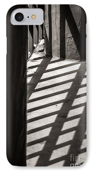 IPhone Case featuring the photograph Gate Shadows II by Sherry Davis