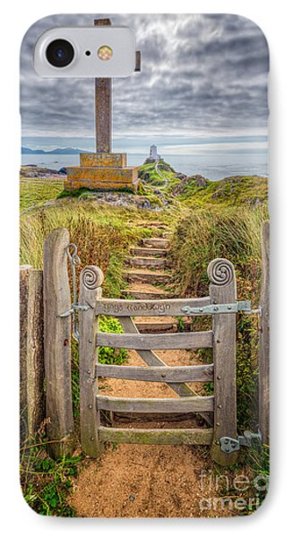 Gate To Holy Island  IPhone Case by Adrian Evans