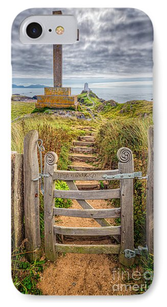 Gate To Holy Island  Phone Case by Adrian Evans