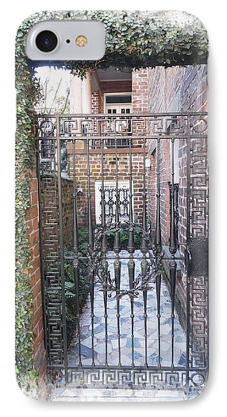 Gated Courtyard IPhone Case
