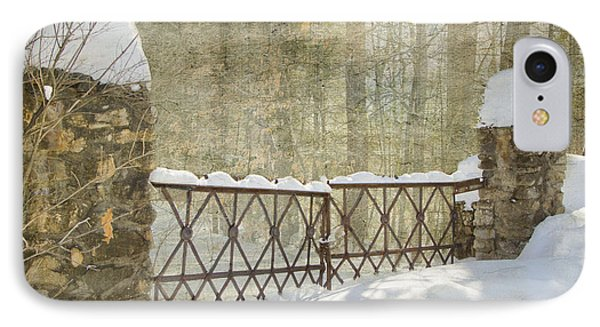 Gated In The Snow IPhone Case by Betty  Pauwels
