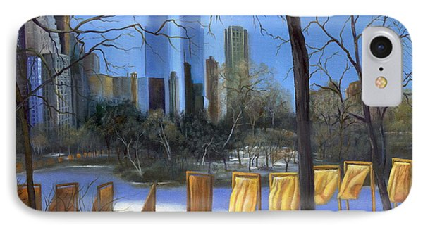 Gates Of New York Phone Case by Marlene Book