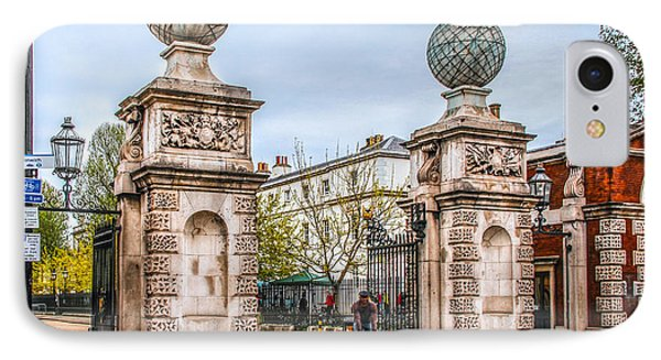 Gates Of The Old Royal Naval College IPhone Case by Ross Henton