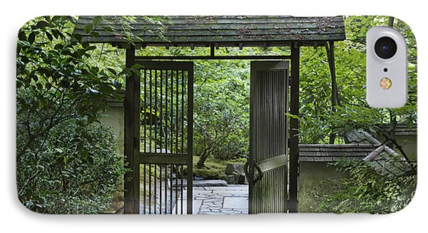 Gates Of Tranquility Phone Case by Sandra Bronstein