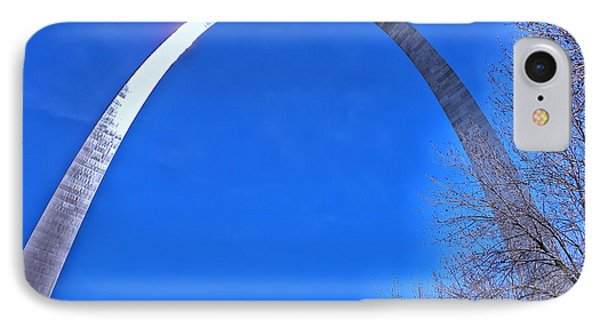 Gateway Arch St Louis 03 Phone Case by Thomas Woolworth