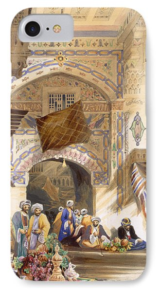 Gateway Of A Bazaar, Grand Cairo, Pub Phone Case by A. Margaretta Burr