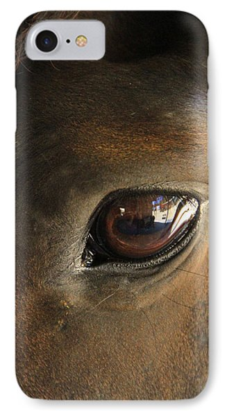 Gateway To A Horses Soul IPhone Case by Shoal Hollingsworth
