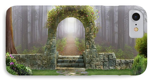 Gateway To Eternity IPhone Case by David M ( Maclean )