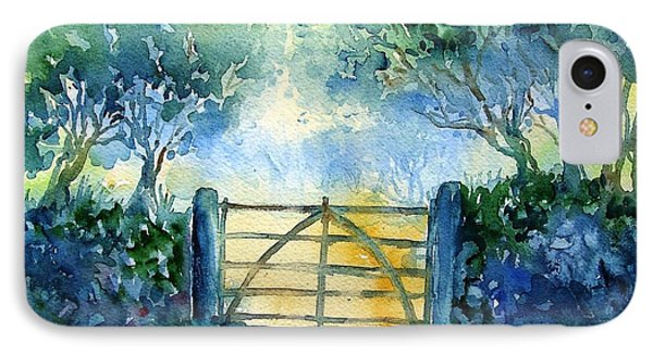 Gateway To The Harvest Field  Phone Case by Trudi Doyle