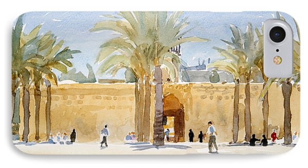Gateway To The Mosque IPhone Case by Lucy Willis
