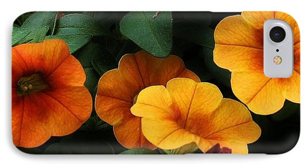 Gathering Of Petunias Phone Case by Bruce Bley