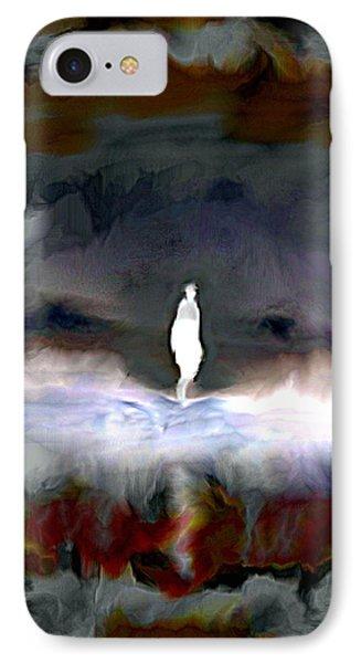 Gathering Storm IPhone Case by Karunita Kapoor