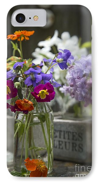 Gathering Wildflowers IPhone Case by Edward Fielding