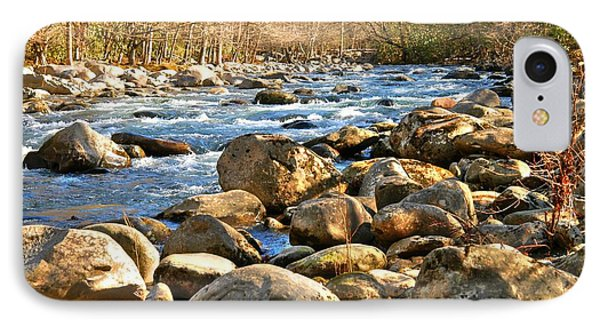IPhone Case featuring the photograph Gatlinberg River by Donald Williams