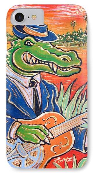 Gator Boogie Phone Case by Robert Ponzio