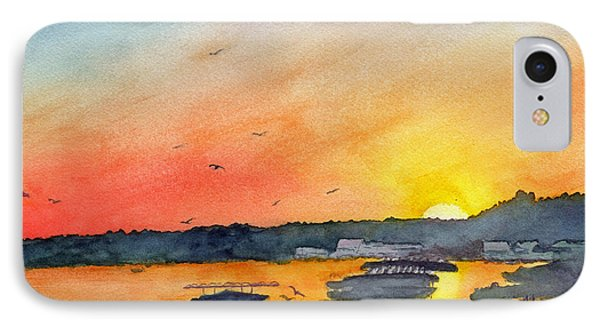Gator Joe's March Sunset IPhone Case by Paul Temple