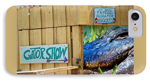 Gator Show IPhone Case