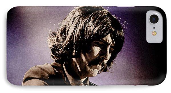 Gavin Leslie Pring As George Harrison IPhone Case by Salvador Gomez