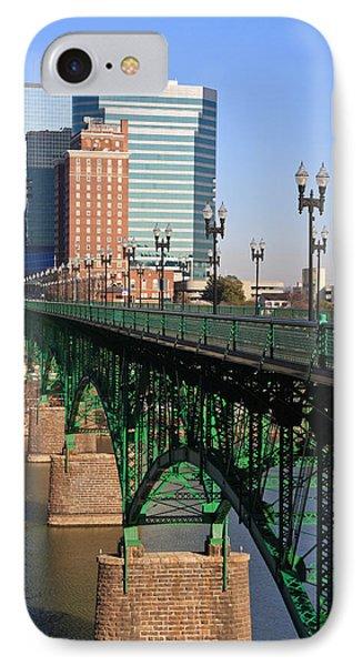Gay Street Bridge Knoxville IPhone Case