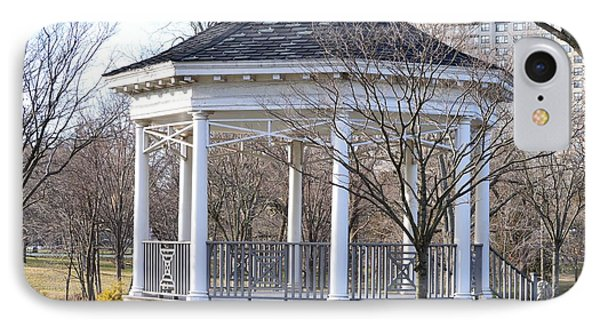 Gazebo In Buccleuch  Park IPhone Case