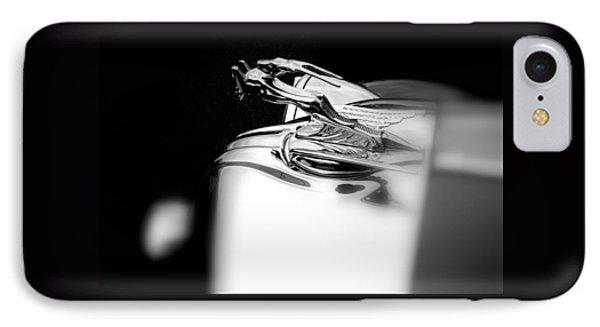 Gazelle Hood Ornament Phone Case by Nick Kloepping