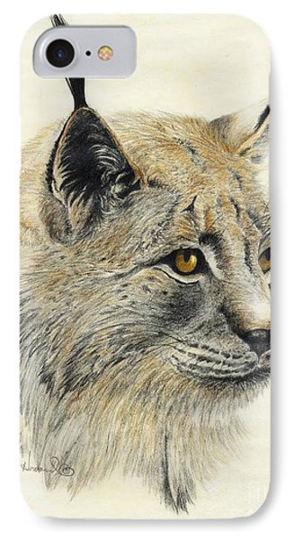 Gazing Lynx IPhone Case