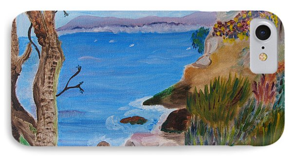 Gazing Out To Sea IPhone Case by Meryl Goudey