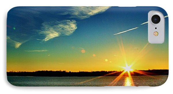 Gc Lake Sunrise IPhone Case