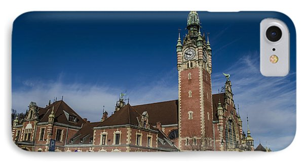 Gdansk Main Station Phone Case by Adam Budziarek