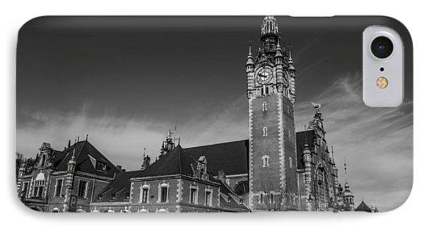 Gdansk Main Station Bw Phone Case by Adam Budziarek