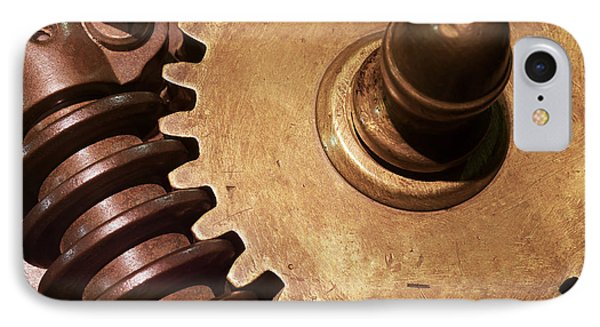 Gear Wheels IPhone Case by Carlos Caetano