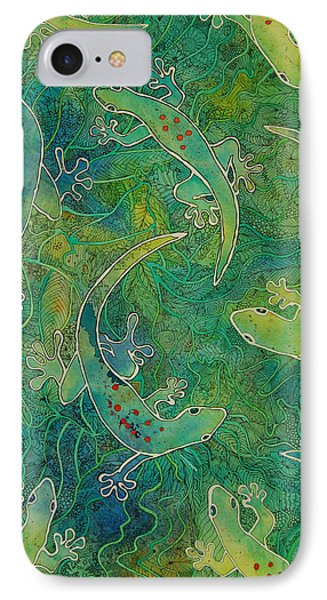 Gecko Magic IPhone Case by Terry Holliday