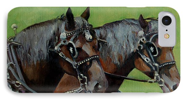 Gee And Haw IPhone Case by Pattie Wall