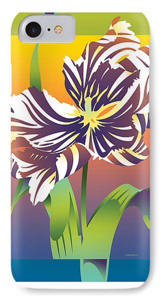 Geen Flamboyance IPhone Case