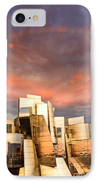 Gehry Rainbow IPhone Case by Joe Mamer