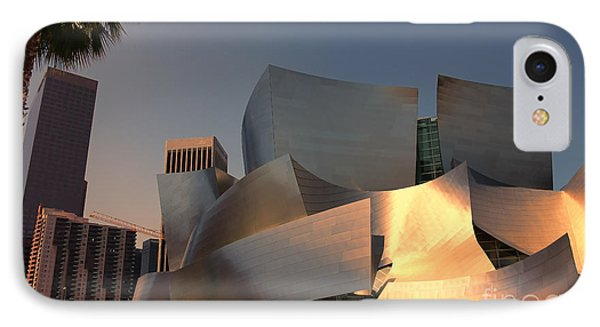 Gehry Tones IPhone Case by Chuck Kuhn