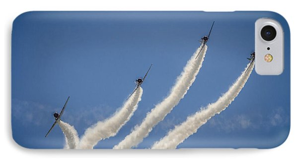 IPhone Case featuring the photograph Geico Sky Typers 2 by Bradley Clay