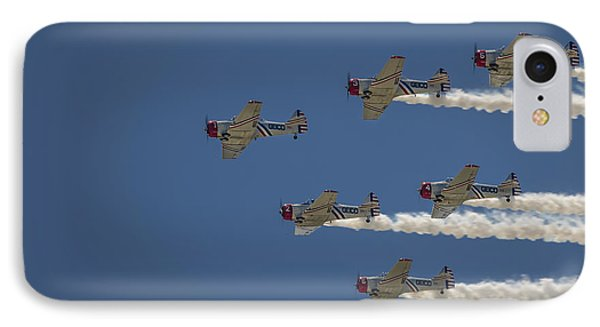 IPhone Case featuring the photograph Geico Sky Typers  by Bradley Clay