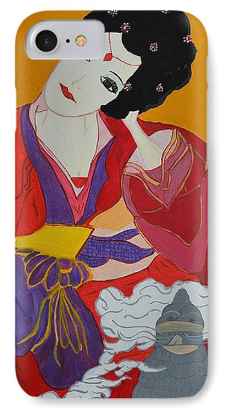 Geisha 2 IPhone Case
