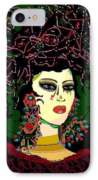 Geisha 6 Phone Case by Natalie Holland