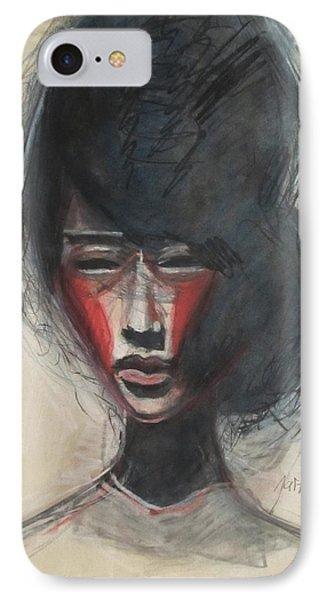 Geisha Make Up IPhone Case by Jarmo Korhonen aka Jarko