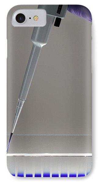Gel Electrophoresis IPhone Case by Public Health England