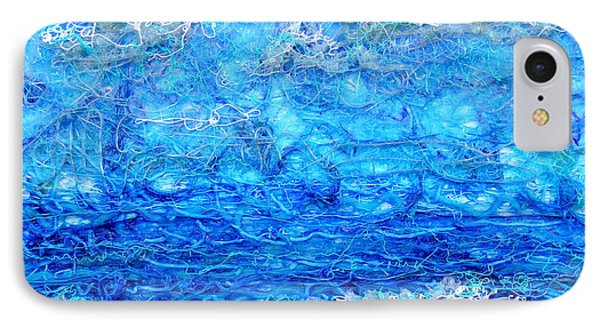 Gelid Seascape Revised Phone Case by Regina Valluzzi