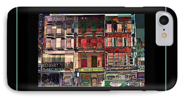 Gem Collection - New York In 1975 - Print Or Card Phone Case by Miriam Danar